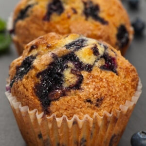 Keto Instant Pot Blueberry Muffin