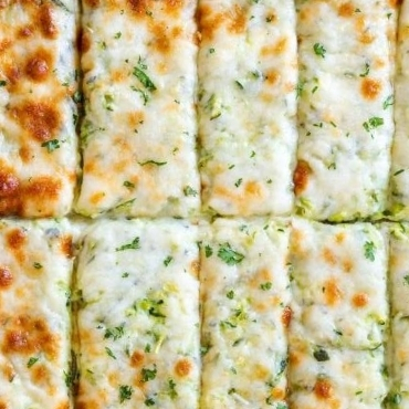 Low Carb Zucchini Breadsticks