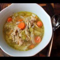 Keto Instant Pot Chicken Soup
