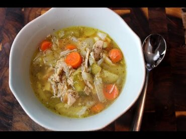 Keto Instant Pot Chicken Soup