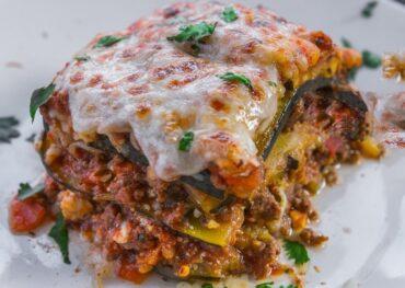 Low Carb Slow Cooker Lasagna