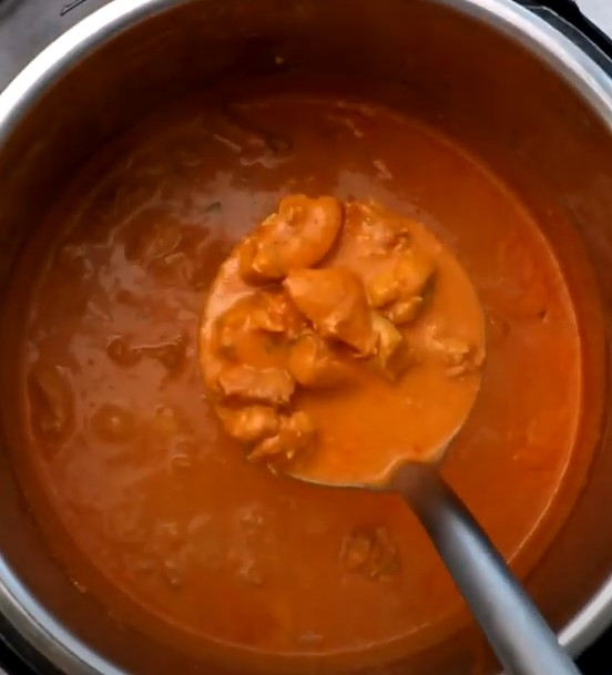 Low Carb Instant Pot Butter Chicken